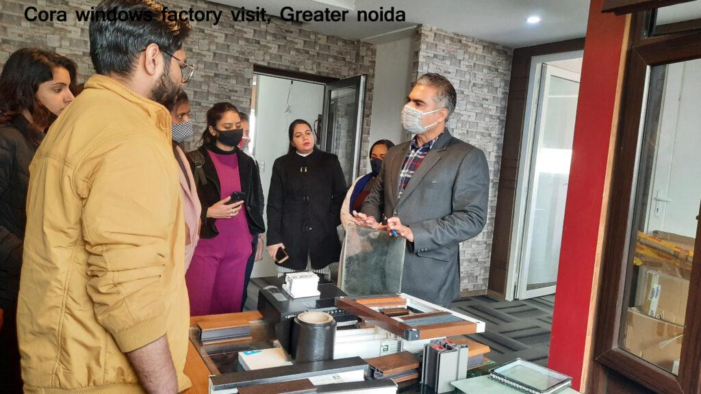 Cora windows factory visit-1
