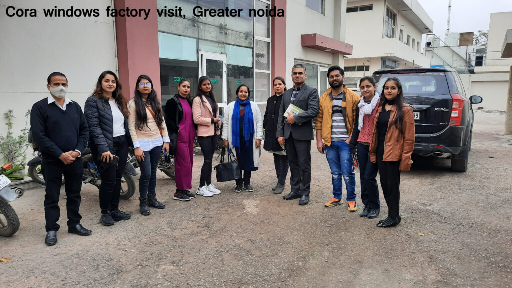 Cora windows factory visit