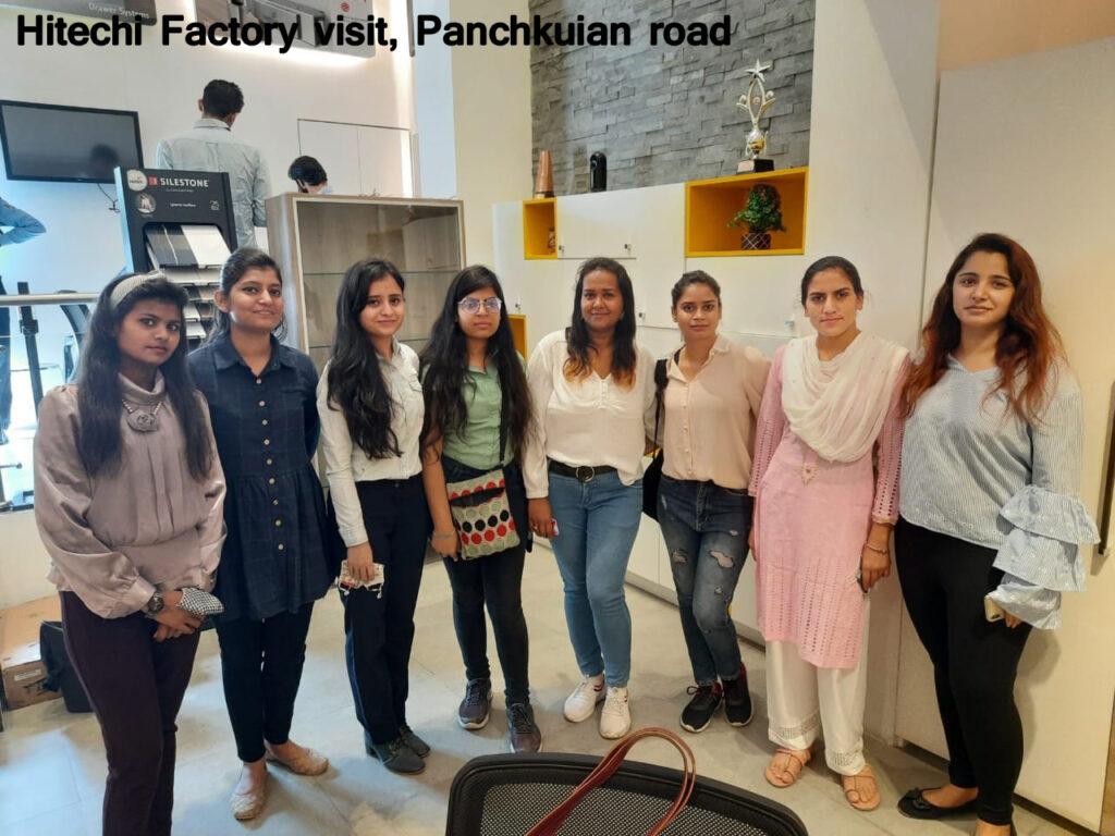 Hitechi Factory visit