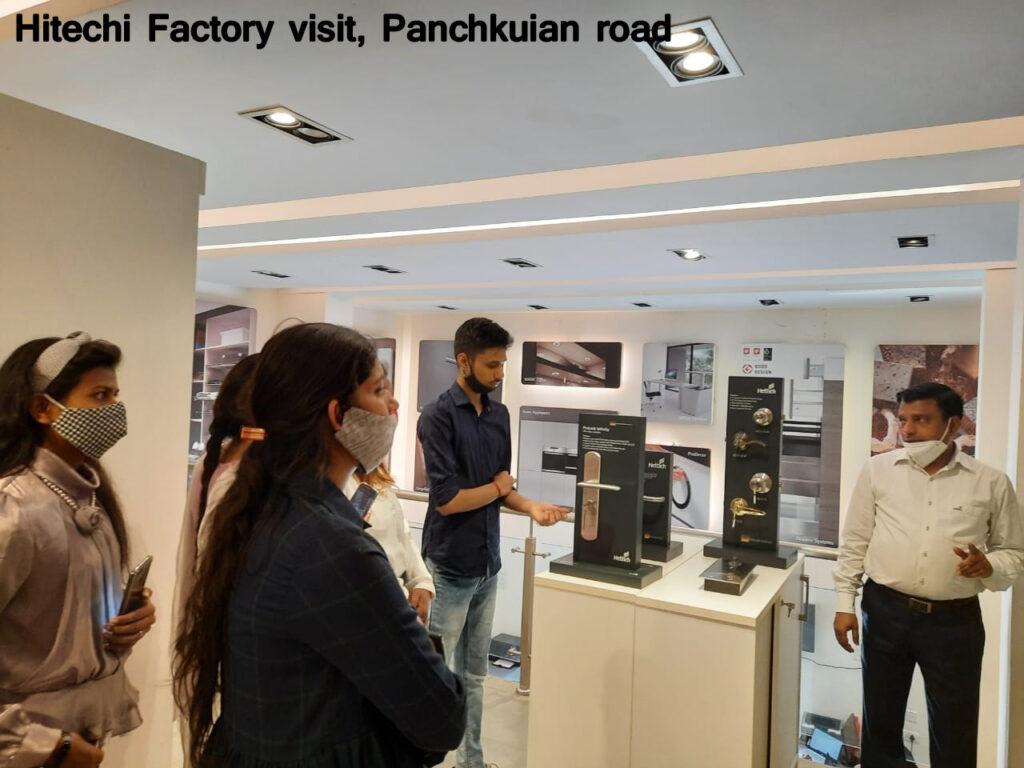 Hitechi Factory visit-2